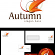 Stock Photo: Autumn Logo Design