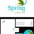 Stock Photo: Spring Logo Design