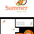 Stock Photo: Summer Logo Design