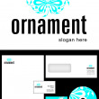 Ornament Logo Design — Stock Photo #9717312