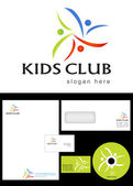 Kids Club — Stock Photo