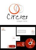Circle Logo Design — Stock Photo