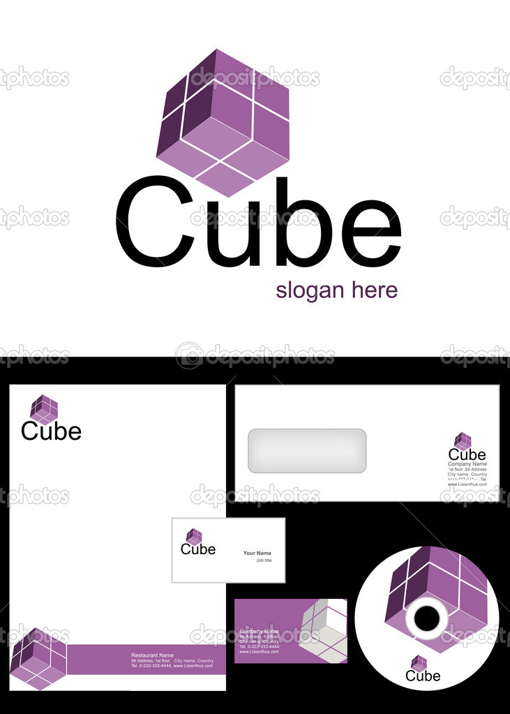 Cube Logo Design u2014 Stock Photo u00a9 creativeapril #9715825