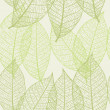 Seamless vector texture with leaves — Stock Vector