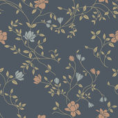 Vintage seamless pattern for retro wallpapers — Stockvector