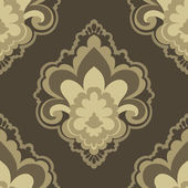 Vintage seamless pattern for retro wallpapers — Stock Vector