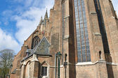 Old church in Delft . Holland — Stock Photo
