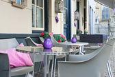 Street cafe in Den Bosch. Netherlands — Stock Photo