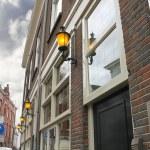 Постер, плакат: Morning the lights on the building Den Bosch Netherlands