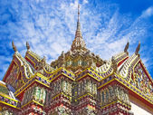 Decorated Buddhist Temple of Wat Phra Kaew in the Grand Palace C — Stock Photo