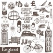 England set — Stock Vector #10662497