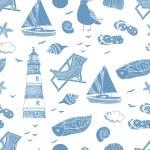 morze wzór — Wektor stockowy  #10665604