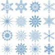 Snowflakes set — Stock Vector #10665661