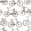 Stock Vector: Vintage bicycle background