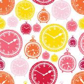 Clock pattern — Stock Vector