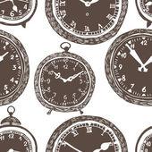 Reloj fondo transparente — Vector de stock