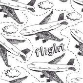 飞行模式 — 图库矢量图片