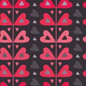Heart pattern — Stock Vector