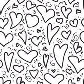Padrão de coração sem emenda — Vetorial Stock