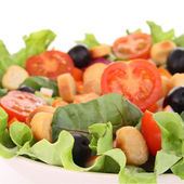 Close up on mixed salad — Stock Photo