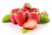Isolated strawberry — Stock Photo
