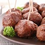 Meatballs appetizer — Stock Photo #10251130