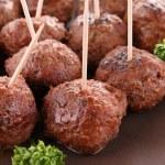 Meatballs appetizer — Stock Photo #10251134