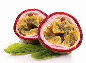 Isolated passionfruit — Stock Photo