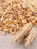 Cerrar sobre los cereales — Foto de Stock