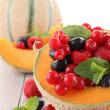 Melon and berry fruit — Stock Photo #10517932