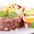 Steak tartare — Stock Photo #10564415