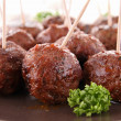 Grilled meatballs — Stock Photo #10616150