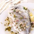 Grilled fish — Stock Photo #10616324