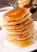Pancakes stack — Stock Photo