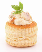 Isolated vol au vent — Stock Photo