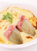 Chicory gratin — Stock Photo