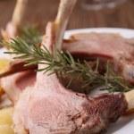 Roasted lamb — Stock Photo #8341506