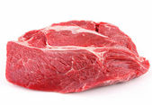 Isolated piece of beef — Stock Photo