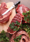 Raw meats — Stock Photo