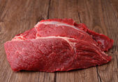 Raw beef piece — Stock Photo
