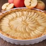 Delicious apple tart — Stock Photo