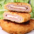 Fried cordon blue — Stock Photo