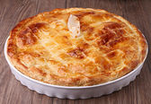 Gourmet meat pie — Stock Photo