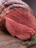 Gourmet roast beef — Stock Photo