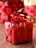 Beautiful gift box — Stockfoto