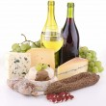 Cheese and wine — Stock Photo #8692543
