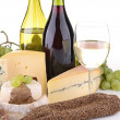 Cheese and wine — Stock Photo #8692763