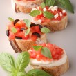 Bruschettas — Stock Photo #8697122