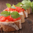 Bruschettas — Stock Photo #8697483
