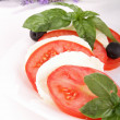 Caprese salad — Stock Photo #8737070